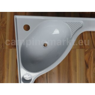 Wash basin gray Fendt caravan 1998 - 2004 (30)