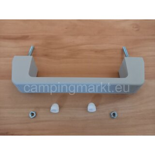 Grab handle grey with thread 185 mm