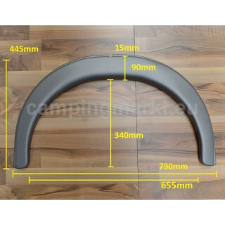 *Reproduction* Wheel arch Fendt for single axis