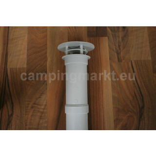 Chimney extension Truma exhaust gas stack 4 pieces