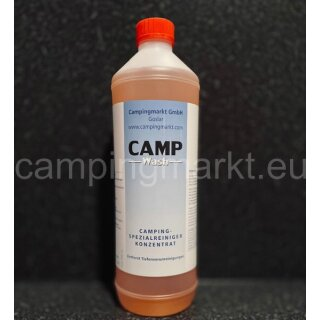 CAMP-WASH - detergent for caravans and motorhomes against black lines on the vehicle