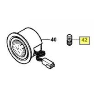 12 V / 1.5W bulb for spot light, Fendt