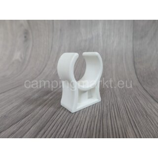 Pipe clip for the sewage system of Hobby caravans