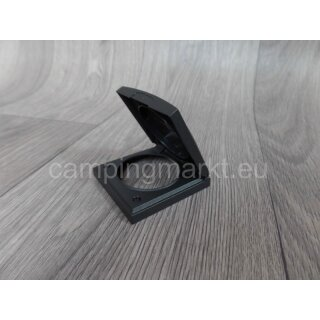 Frame with hinged lid anthracite for SCHUKO-Socket 60 x 60 mm Hobby