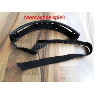 Gas bottles holding belt black for 11 kg Hobby