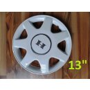 Wheel cover 13 inch, white, Hobby